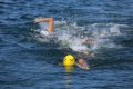 트라이애슬론 수영 1.5km 결승점