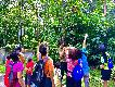 부킷 바톡 관광객들