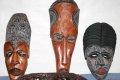 Zulo족 전통 가면