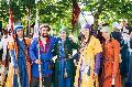 민스크 중세 문화 축제 참가자