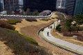 남산공원, 백범광장 주변 서울성곽
