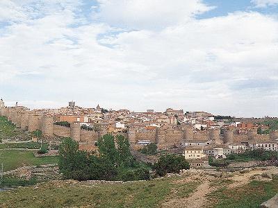 아빌라 옛 시가지와 대성당