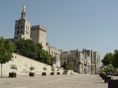 아비뇽 역사 지구: 로마 교황의 궁전, 감독파 앙상블, 아비뇽 다리