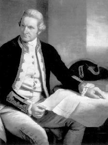 영국 탐험가 제임스 쿡 출생