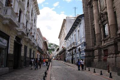 에콰도르의 수도 키토의 역사지구