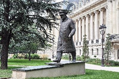 영국 정치가 처칠 출생
