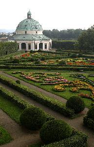 크로메르지시의 정원과 성