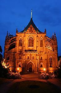 쿠트나 호라: 성바르바라 성당이 있는 역사지구와 세들레츠에 있는 성모 마리아 대성당