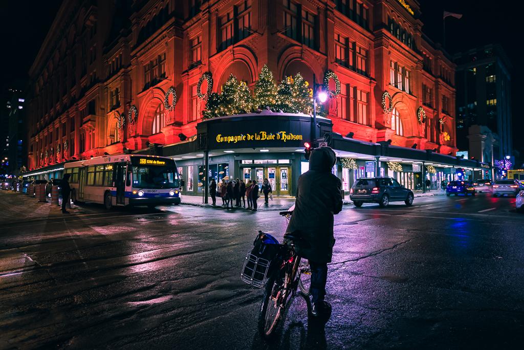캐나다16_몬트리올, 밤의 다운타운