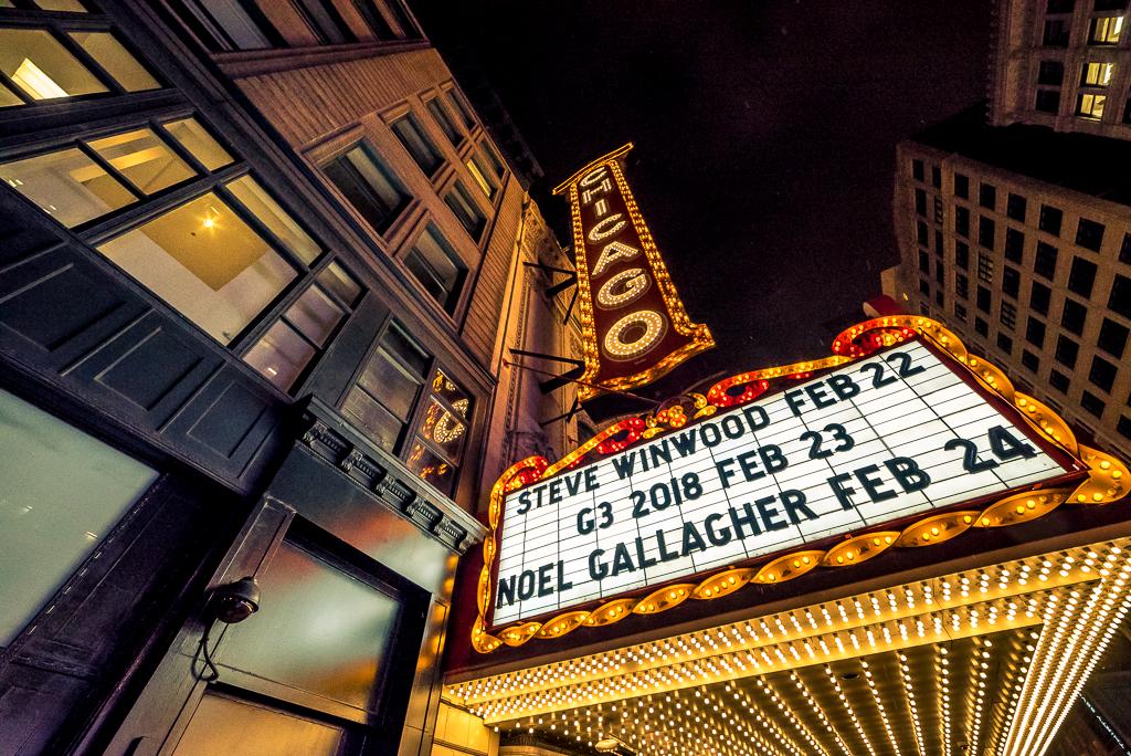 미국13_겨울밤의 시카고