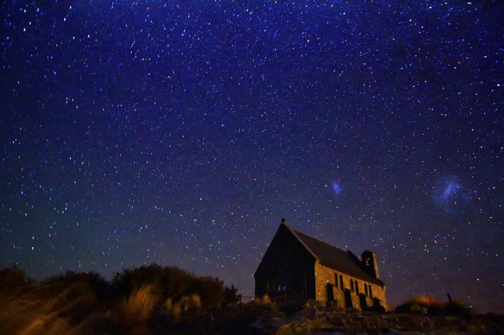 [바나나세계여행#28]레이크테카포의 밤하늘과 선한 목자의 교회.(뉴질랜드 남섬일주)