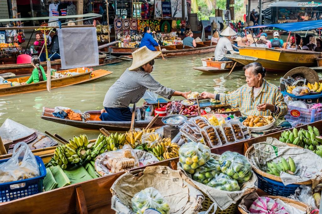 태국|암파와 수상시장