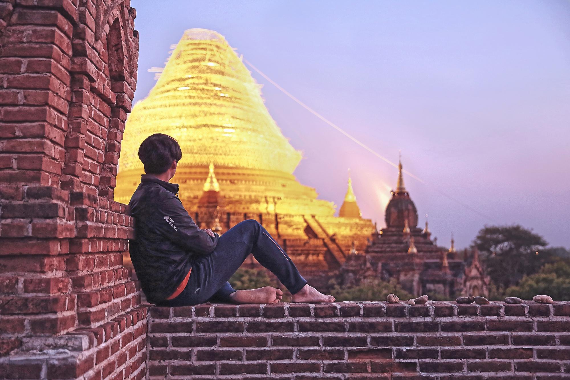 [진수포토] 04-12 미얀마_바간의 마지막 노을