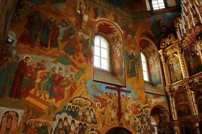 보고야브렌스키 성당 내부 10