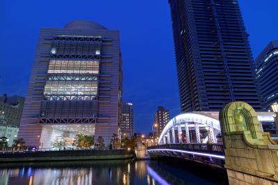오사카부립 국제회의장, 야경 04