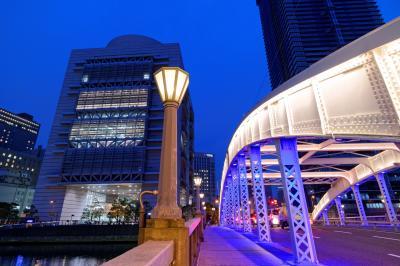 오사카부립 국제회의장, 야경 01