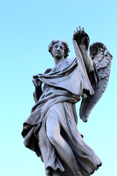산탄젤로다리, 코시모 판첼리 '손수건을 든 천사 (베로니카의 장막)' 04