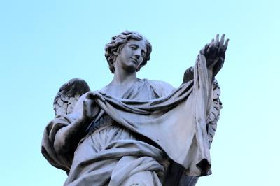 산탄젤로다리, 코시모 판첼리 '손수건을 든 천사 (베로니카의 장막)' 05