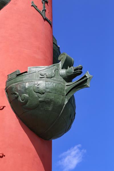 바실리예프스키 섬, 해전 기념 원주 10