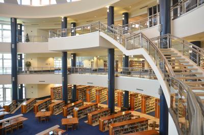 사반지 대학교 도서관 01