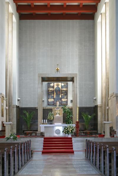 세인트 파두아 안토니 교회 내부 05