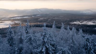 보로바 산간지역 겨울 파노라마  01