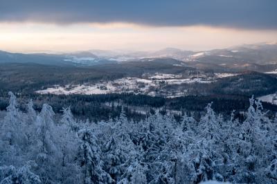 보로바 산간지역 겨울 파노라마  04