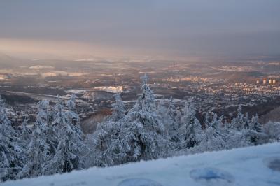 보로바 산간지역 겨울 파노라마  02