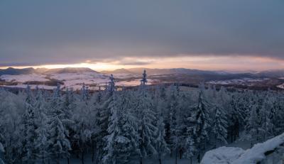 보로바 산간지역 겨울 파노라마  05