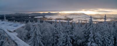 보로바 산간지역 겨울 파노라마  07
