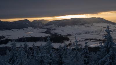 보로바 산간지역 겨울 파노라마  06