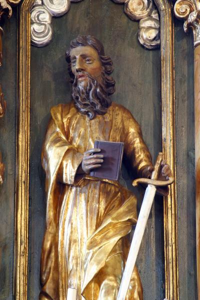 성 피터 므레즈니키 교회 동상 05
