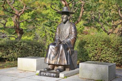 최양업신부 동상 03