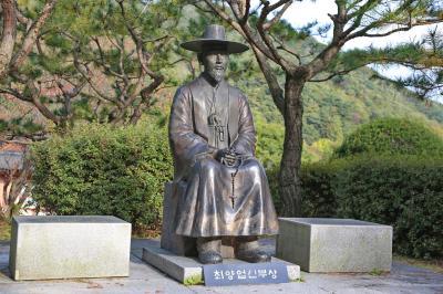 최양업신부 동상 04