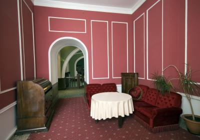 앰버 팔라스 내부 호텔로비