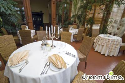 앰버 팔라스 내부 식당