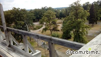 치에호치넥 테즈니 공원 식염수 농축 타워 상세사진