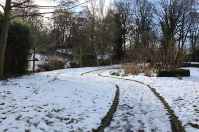 리스터 공원 겨울