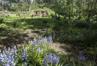 번비 홀 정원의 호빗 하우스 06