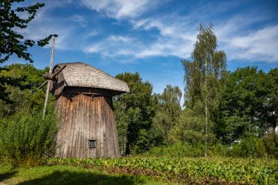 루블린 마을 민족지 박물관 풍차  03