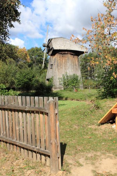 루블린 마을 민족지 박물관 풍차  09