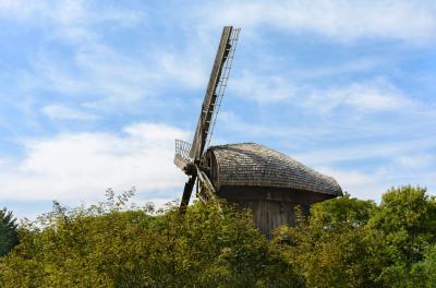 루블린 마을 민족지 박물관 풍차  04