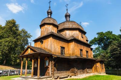 루블린 마을 민족지 박물관 그리스 카톨릭 교회 07