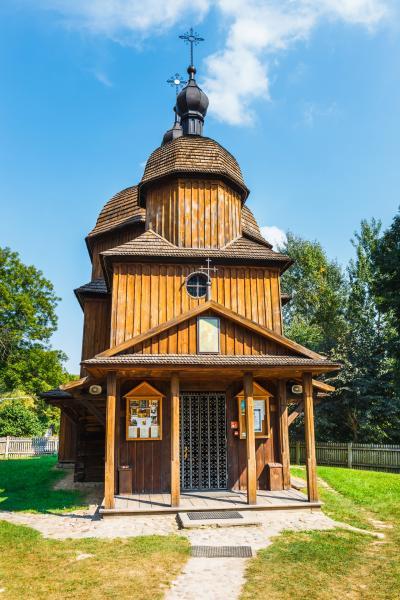 루블린 마을 민족지 박물관 그리스 카톨릭 교회 08