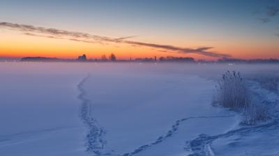 푸츠크만 겨울풍경
