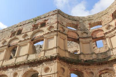 크르쉬토포르 성 유적 상세사진  06