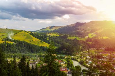 베코르비나 셰브코바 산 전경 05