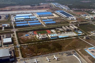 광저우 바이윈 국제공항 02R 이륙 05