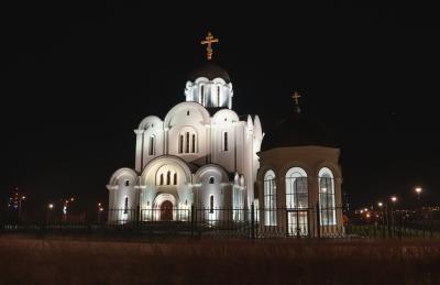 라스나마에 정교회 야경