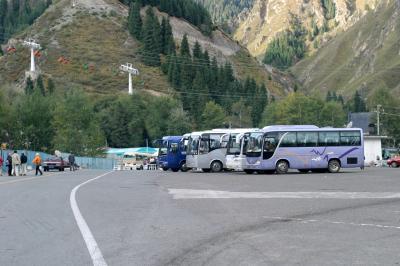 톈산톈츠 버스주차장